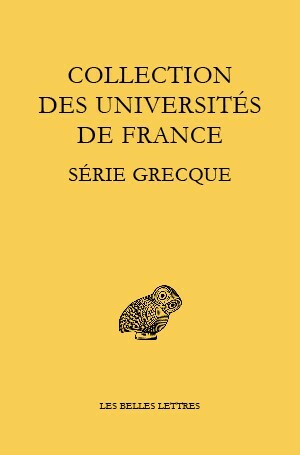 Collection des universités de France Série grecque