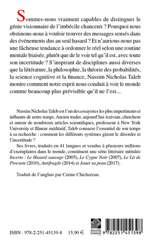 Le Hasard sauvage [format poche]