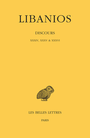Discours. Livres XXXIV, XXXV & XXXVI