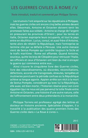 Les Guerres civiles à Rome - Livre V