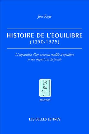 Histoire de l'équilibre (1250-1375)