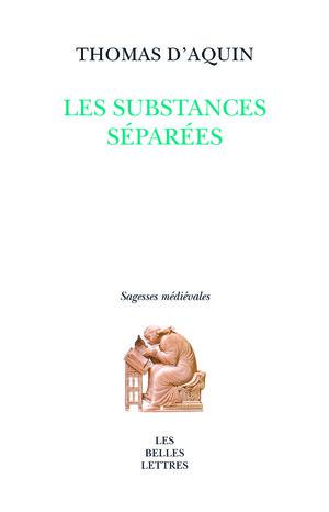 Les substances séparées