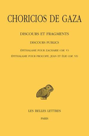 Discours et fragments. Tome II, 3e partie : Discours publics.