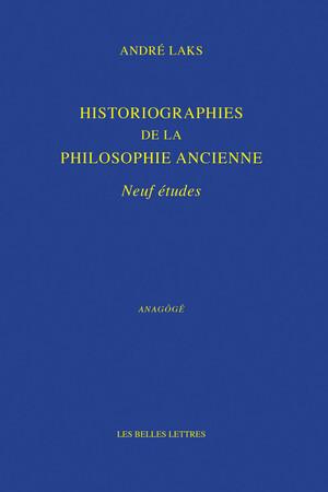 Historiographies de la philosophie ancienne