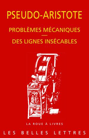 Problèmes mécaniques. Des lignes insécables.